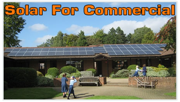 Solar For Commercial Premises
